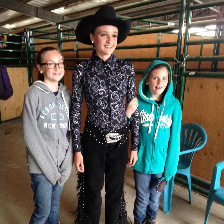 Aubrie, Chloe  and Savannah