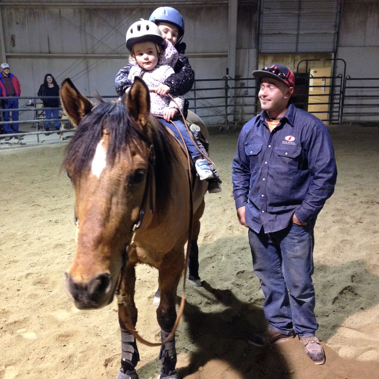 We love introducing first timers to horses!